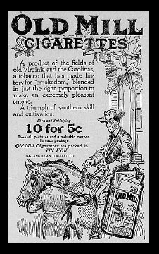 T206Resource.com - Old Mill Ads